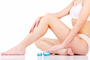 shave legs with coconut oil